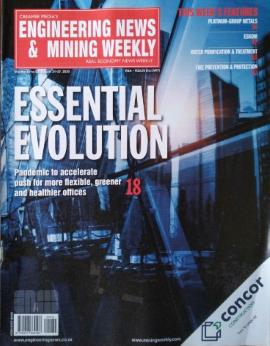 Engineering News & Mining Weekly image